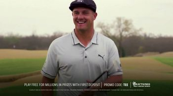DraftKings Daily Fantasy Sports TV Spot, 'Purse Worth Playing For' Featuring Bryson DeChambeau
