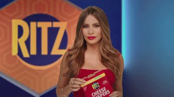 Ritz Cheese Crispers TV Spot, 'Bold Taste' Featuring Sofia Vergara - Thumbnail 1