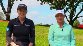 St. Jude Children's Research Hospital TV Spot, 'CME Group: Score One for St. Jude' Feat. Brooke Henderson, Sarah Kemp - Thumbnail 9