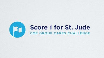 St. Jude Children's Research Hospital TV Spot, 'CME Group: Score One for St. Jude' Feat. Brooke Henderson, Sarah Kemp - Thumbnail 3