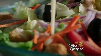 Olive Garden Never Ending Soup, Salad & Breadsticks TV Spot, 'Our Famous Never Ending First Course' - Thumbnail 1