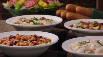 Olive Garden Never Ending Soup, Salad & Breadsticks TV Spot, 'Our Famous Never Ending First Course' - Thumbnail 3