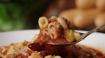 Olive Garden Never Ending Soup, Salad & Breadsticks TV Spot, 'Our Famous Never Ending First Course' - Thumbnail 4