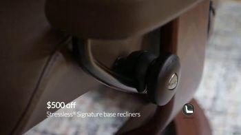 Ekornes Stressless TV Spot, 'Get Up to $500 Off' - Thumbnail 1