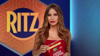Ritz Cheese Crispers TV Spot, 'Sabor audaz' con Sofía Vergara  [Spanish]