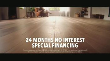 LL Flooring TV Spot, 'Bellawood Oak Floors: 24 Months Financing' Song by Electric Banana - Thumbnail 4