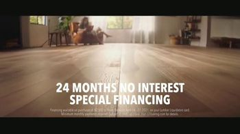 LL Flooring TV Spot, 'Bellawood Oak Floors: 24 Months Financing' Song by Electric Banana - Thumbnail 5