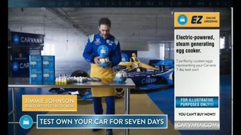 Carvana TV Spot, '7 Day Trial: Hard-Boiled Eggs' Featuring Jimmie Johnson - Thumbnail 2