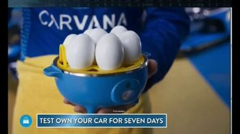 Carvana TV Spot, '7 Day Trial: Hard-Boiled Eggs' Featuring Jimmie Johnson - Thumbnail 3