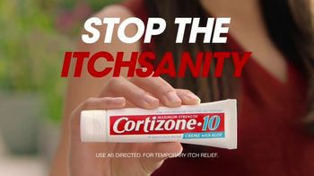 Cortizone 10 Maximum Strength Creme With Aloe TV Spot, 'Stop the Itchsanity'