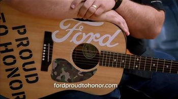 Ford TV Spot, 'Guitars 4 Vets: Coping with PTSD' Featuring Luke Combs [T1] - Thumbnail 9