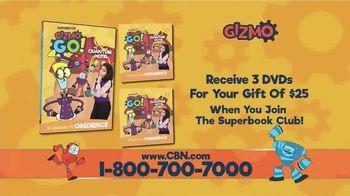 Superbook: Gizmo Go!: The Quantum Hotel Home Entertainment TV Spot - Thumbnail 5