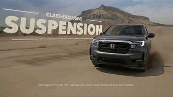 2021 Honda Ridgeline TV Spot, 'Outdo the Competition' [T2] - Thumbnail 3