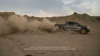2021 Honda Ridgeline TV Spot, 'Outdo the Competition' [T2] - Thumbnail 6