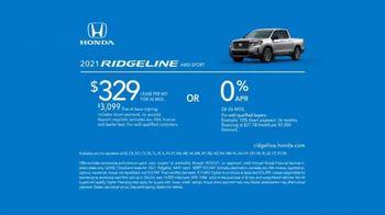 2021 Honda Ridgeline TV Spot, 'Outdo the Competition' [T2] - Thumbnail 8