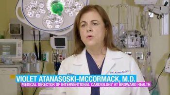 Broward Health TV Spot, 'Health File: Blocked Blood Vessel' - Thumbnail 7