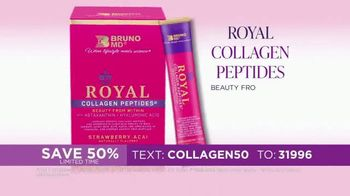 Bruno MD Royal Collagen Peptides TV Spot, 'Real People, Real Results: Save 50%' - Thumbnail 3