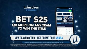 TwinSpires Sportsbook TV Spot, 'Win for a Win: Bet $25, Win a $10 Free Bet' - Thumbnail 4