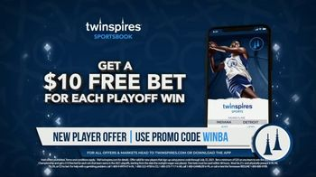 TwinSpires Sportsbook TV Spot, 'Win for a Win: Bet $25, Win a $10 Free Bet' - Thumbnail 5