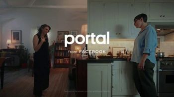 Portal from Facebook TV Spot, 'Share Something Real on Portal: Sisters' - Thumbnail 10