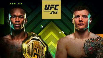 DraftKings Sportsbook TV Spot, 'UFC 263: Bet $1 to Win $100'