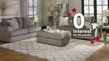 Ashley HomeStore Memorial Day Sale TV Spot, 'Extended: 50% Off and 0% Interest for 60 Months' - Thumbnail 3