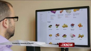 University of Phoenix TV Spot, 'In the Know: Digital Accessability' - Thumbnail 1