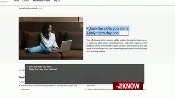University of Phoenix TV Spot, 'In the Know: Digital Accessability' - Thumbnail 3