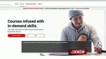 University of Phoenix TV Spot, 'In the Know: Digital Accessability' - Thumbnail 8