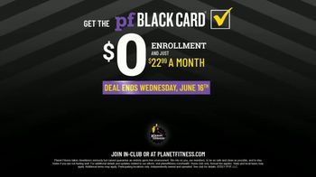 Planet Fitness Black Card Free Month Sale TV Spot, 'Get Moving' - Thumbnail 10