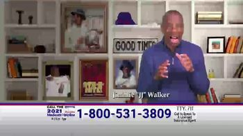The Medicare Helpline TV Spot, 'Extra 2021 Medicare Benefits' Featuring Jimmie Walker - Thumbnail 1