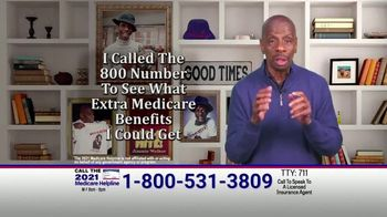 The Medicare Helpline TV Spot, 'Extra 2021 Medicare Benefits' Featuring Jimmie Walker - Thumbnail 2