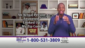 The Medicare Helpline TV Spot, 'Extra 2021 Medicare Benefits' Featuring Jimmie Walker - Thumbnail 3