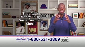 The Medicare Helpline TV Spot, 'Extra 2021 Medicare Benefits' Featuring Jimmie Walker - Thumbnail 6