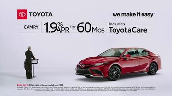 2021 Toyota Camry TV Spot, 'Conductor: Camry' [T2] - Thumbnail 1