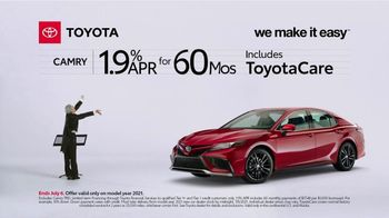 2021 Toyota Camry TV Spot, 'Conductor: Camry' [T2] - Thumbnail 4