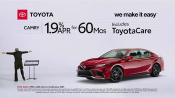 2021 Toyota Camry TV Spot, 'Conductor: Camry' [T2] - Thumbnail 5
