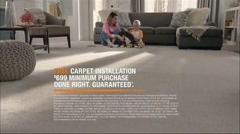 The Home Depot TV Spot, 'Free Carpet Installation: $699: Pet-Proof' - Thumbnail 10