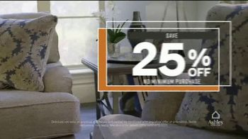 Ashley HomeStore One Day Sale TV Spot, '0% Interest or 25% Off Storewide' - Thumbnail 6