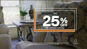 Ashley HomeStore One Day Sale TV Spot, '0% Interest or 25% Off Storewide' - Thumbnail 7
