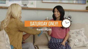Ashley HomeStore One Day Sale TV Spot, '0% Interest or 25% Off Storewide'