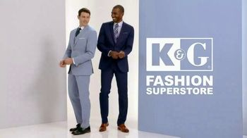 K&G Fashion Superstore TV Spot, 'Father's Day: Designer Suits and Sportswear'