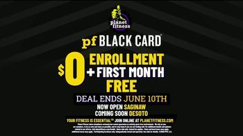 Planet Fitness Black Card Free Month Sale TV Spot, 'All The Perks' - Thumbnail 9