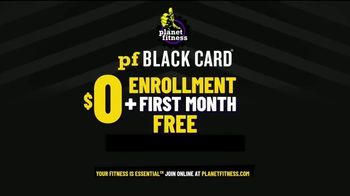 Planet Fitness Black Card Free Month Sale TV Spot, 'All The Perks' - Thumbnail 8