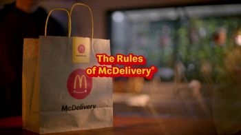 McDonald's TV Spot, 'The Rules of McDelivery' - Thumbnail 2