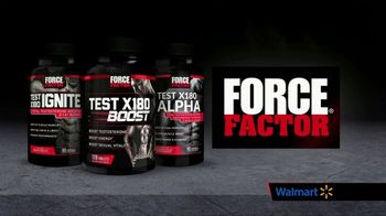 Force Factor Test X180 TV Spot, 'Boost It Back: Walmart'