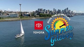 Toyota Run the Numbers Summer Getaway TV Spot, 'Time to Get Away: SUVs' [T2] - Thumbnail 4
