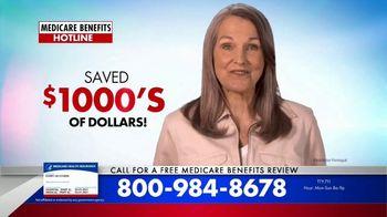 Medicare Benefits Hotline TV Spot, 'Get the 2021 Benefits You Deserve'