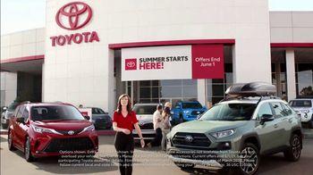 Toyota Summer Starts Here TV Spot, 'Summer Activities' [T2] - Thumbnail 1