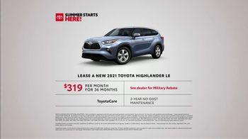 Toyota Summer Starts Here TV Spot, 'Summer Activities' [T2] - Thumbnail 5